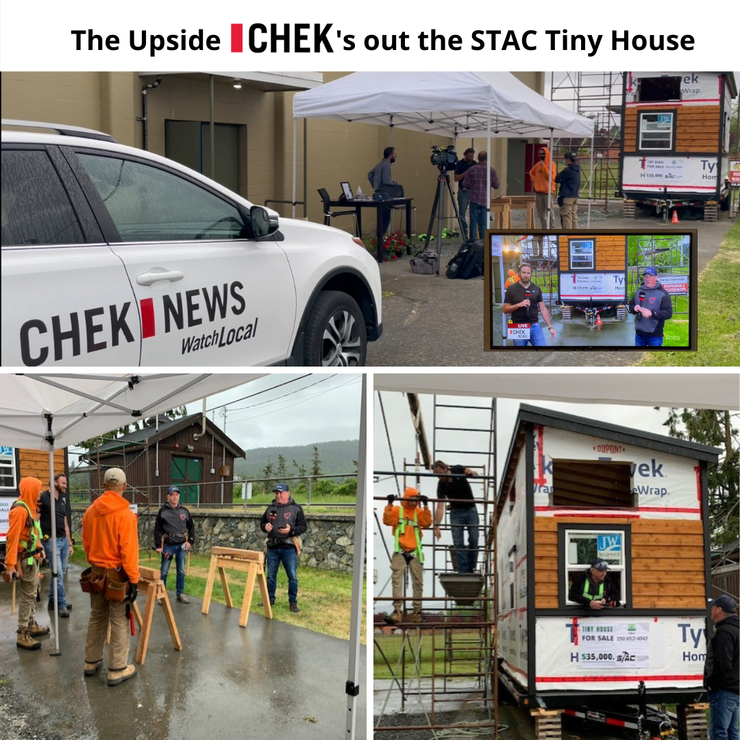 STAC hosts Chek News Upside