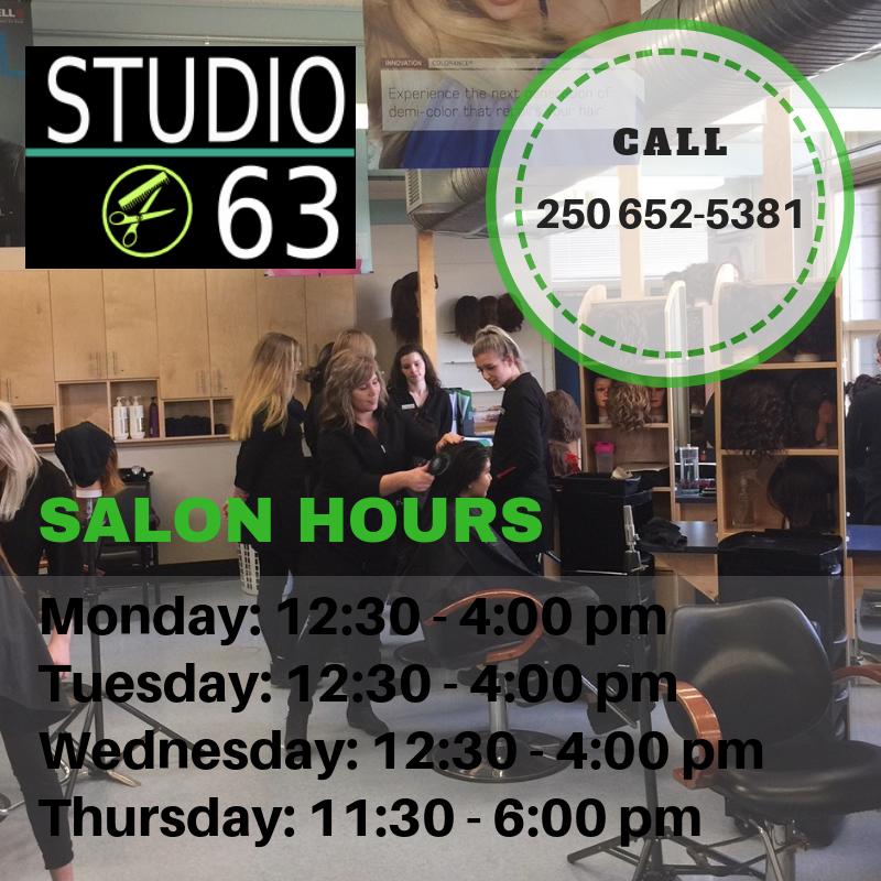 studio 63 hours