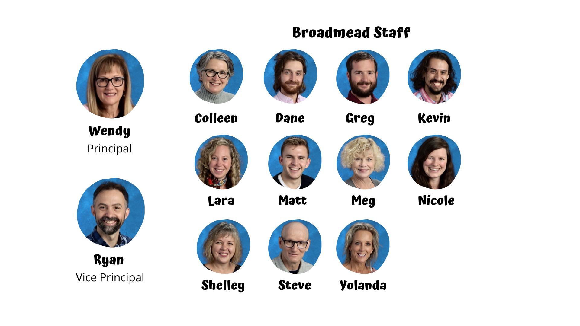 Broadmead Staff