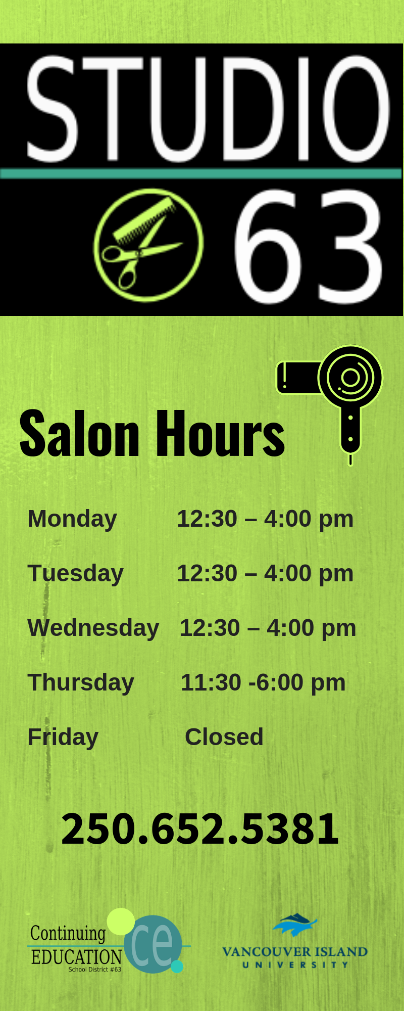salon hours
